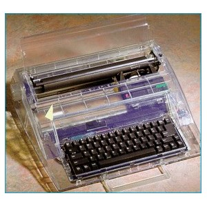 photo of an electronic typewriter for prisoners