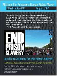 Logo Millions for Prisoners March